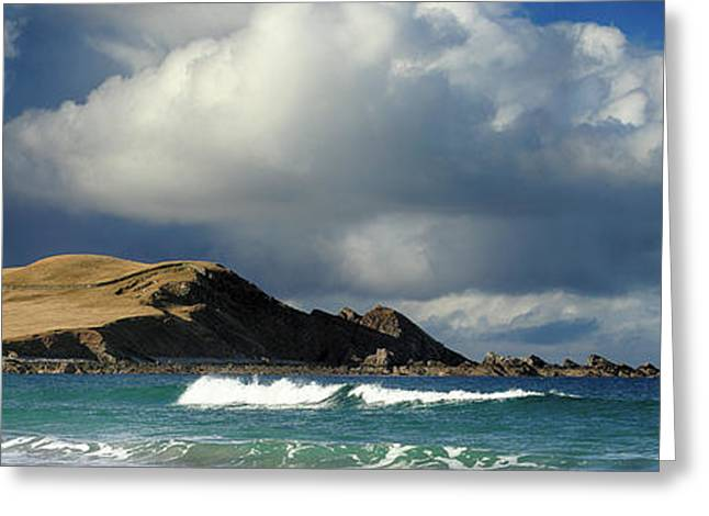 Greeting Card featuring the photograph Sango Bay - Durness by Grant Glendinning