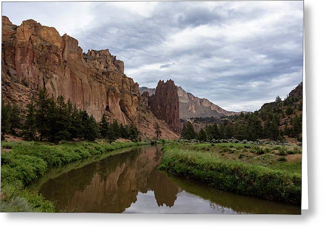 Smith Rock Reflections Greeting Card