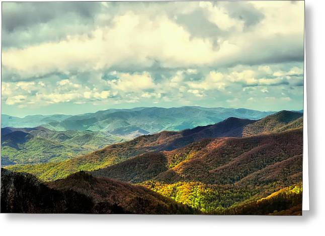 Smoky Mountain Memory Greeting Card
