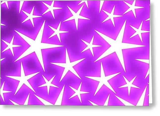 Star Burst 2 Greeting Card