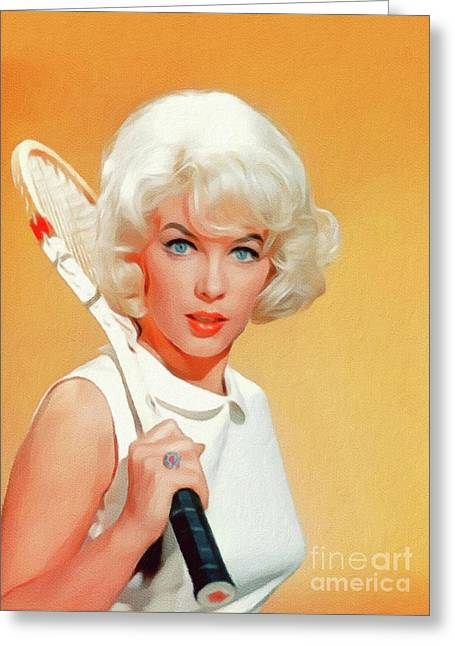 Stella Stevens, Vintage Actress Greeting Card
