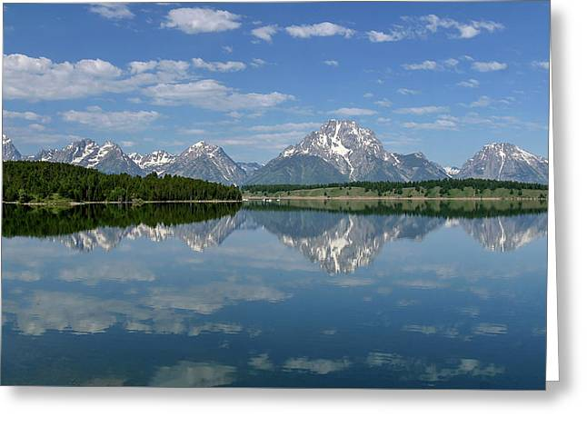 Greeting Card featuring the photograph Summer Reflections by Ronnie and Frances Howard