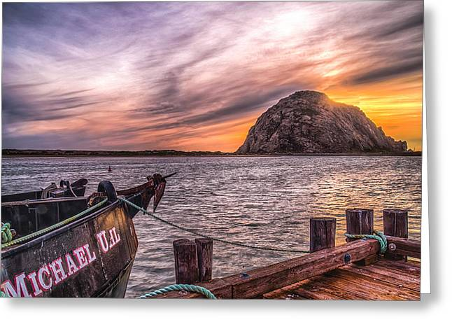 Sunset By The Bay Greeting Card by Fernando Margolles