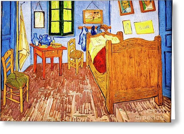 Van Gogh's Bedroom Greeting Card