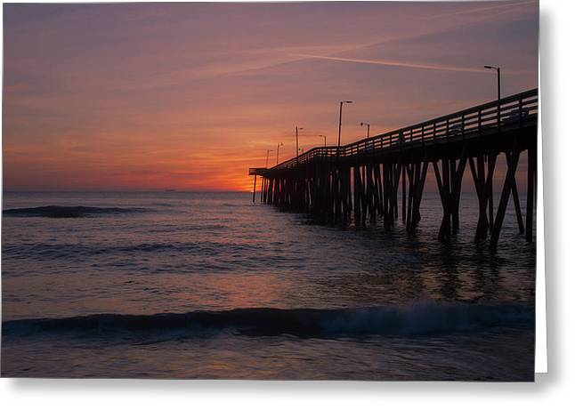 Greeting Card featuring the photograph Virginia Sunrise by Pete Federico