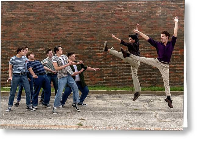 West Side Story 2 Greeting Card