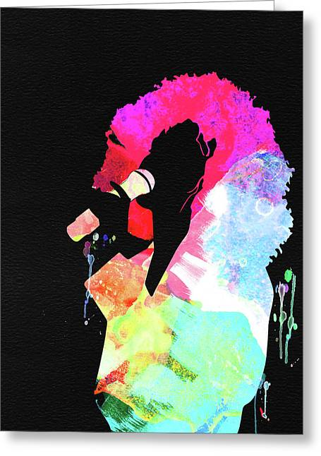 Whitney Watercolor Greeting Card