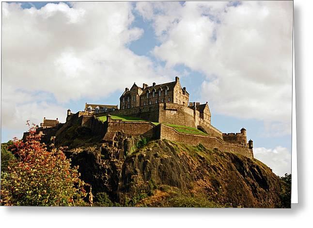 19/08/13 Edinburgh, The Castle. Greeting Card