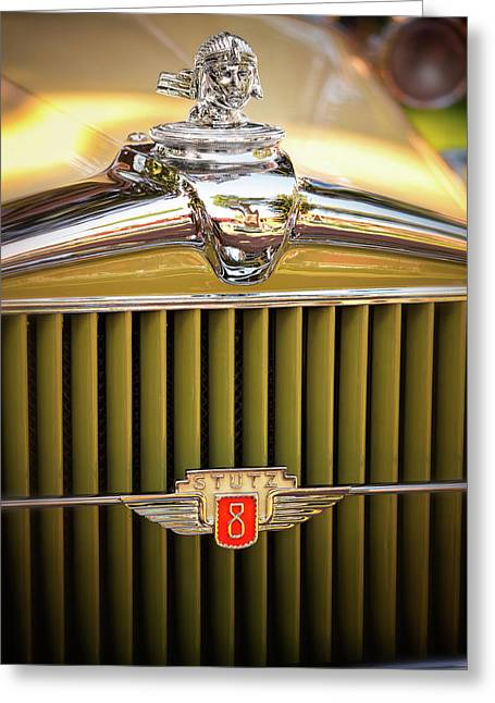 1931 Stutz Model M Greeting Card