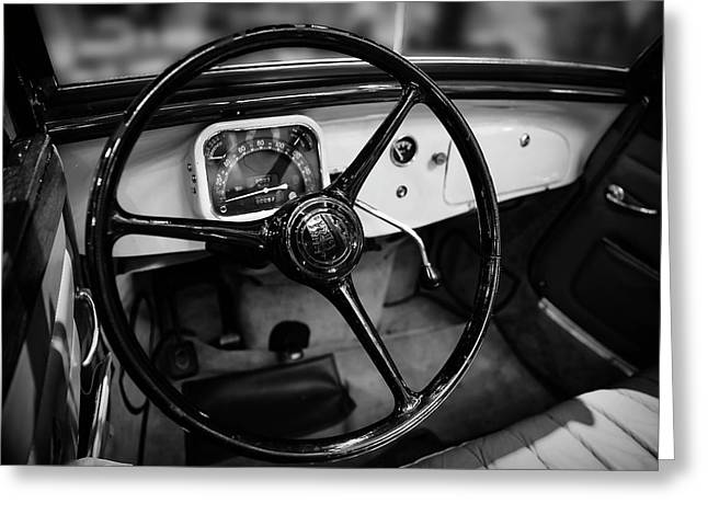 1936 Citroen Roadster Greeting Card