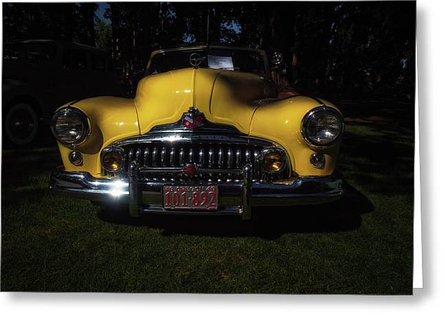 1948 Buick Roadmaster Greeting Card