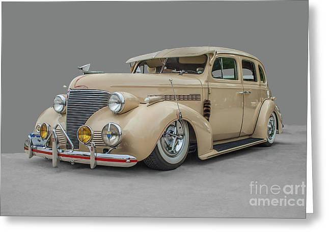 1939 Chevrolet Master Deluxe Greeting Card