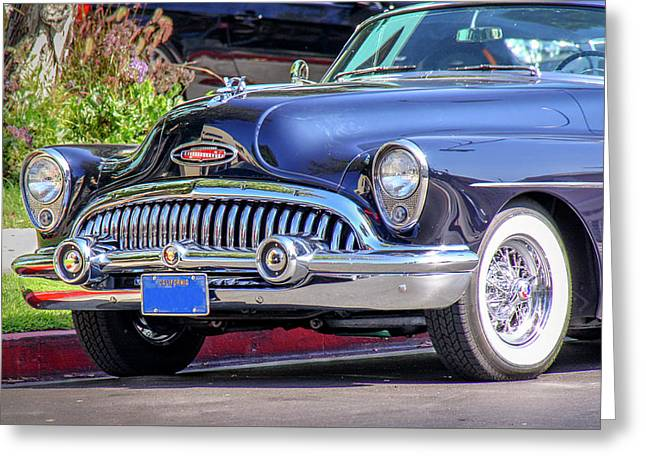 1953 Buick Skylark - Chrome And Grill Greeting Card