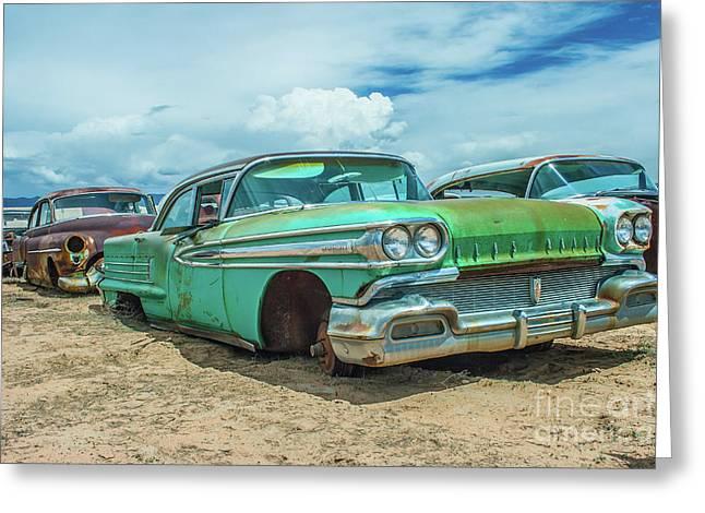1958 Oldsmobile Super 88 Greeting Card