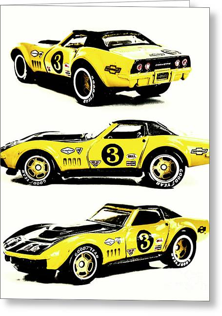 1969 Chevrolet Copo Corvette Greeting Card