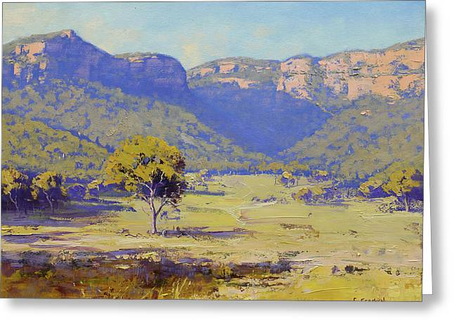 Capertee Valley Australia Greeting Card