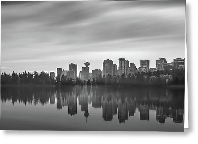 Downtown Vancouver Greeting Card