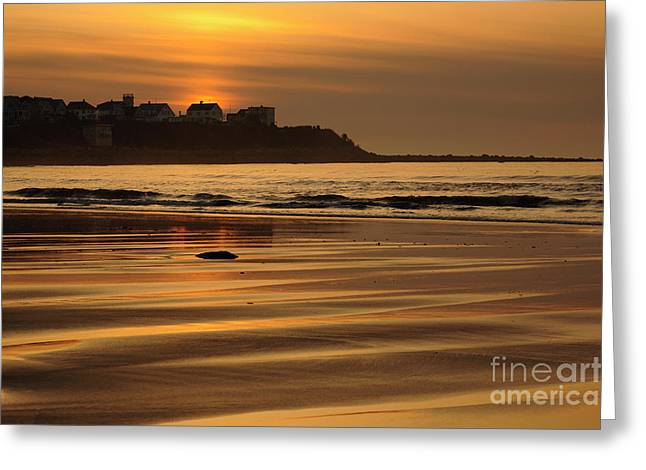 Hampton Beach, New Hampshire Greeting Card