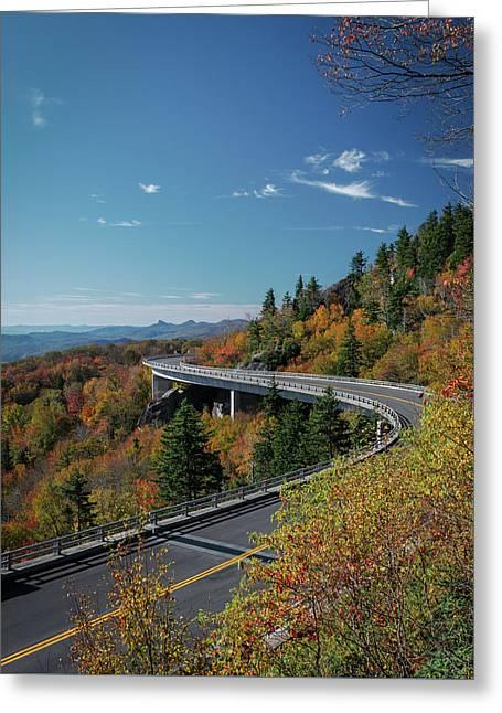 Linn Cove Viaduct - Blue Ridge Parkway Greeting Card