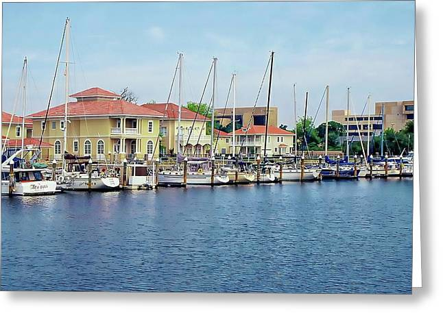 Greeting Card featuring the photograph Port Royal by Anthony Dezenzio