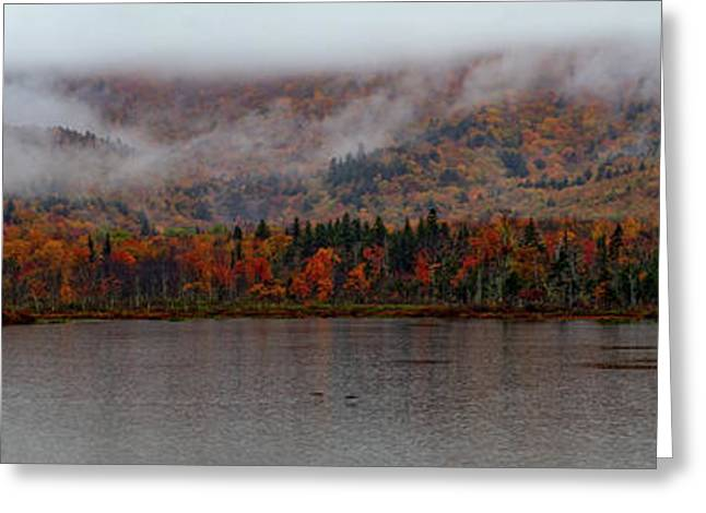 The Basin In Maine Greeting Card