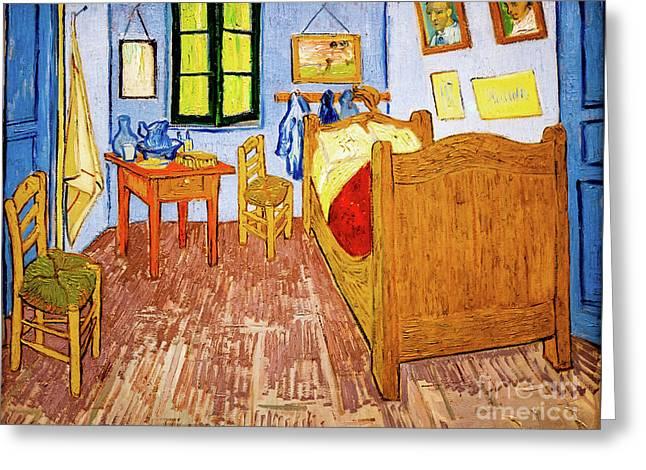 Van Gogh's Bedroom At Arles Greeting Card
