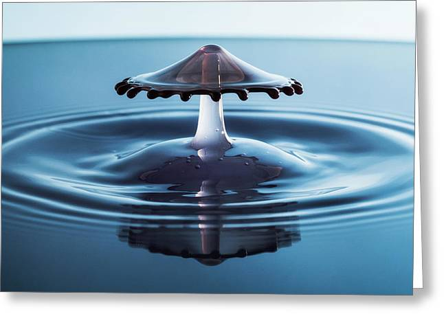 Water Drop Greeting Card