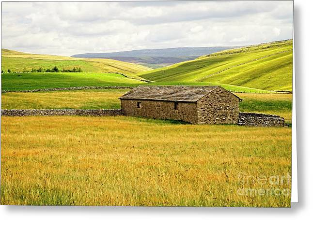 Yorkshire Dales Landscape Greeting Card