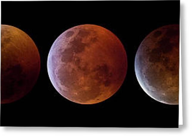 2019 Lunar Eclipse Progression Greeting Card