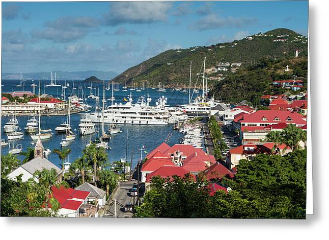 French West Indies, St-barthelemy Greeting Card