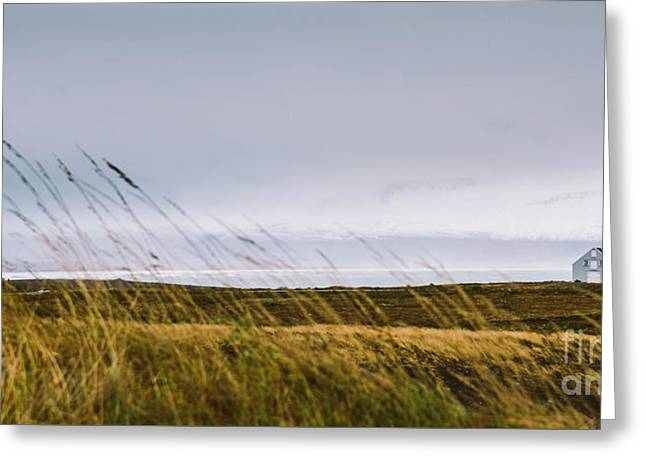 Beautiful Panoramic Photos Of Icelandic Landscapes That Transmit Beauty And Tranquility. Greeting Card