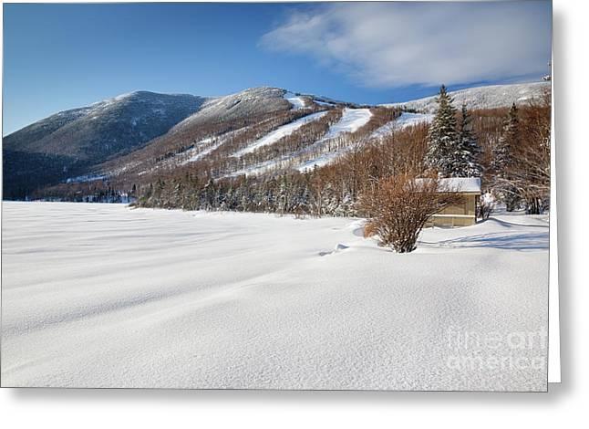 Cannon Mountain - White Mountains New Hampshire  Greeting Card