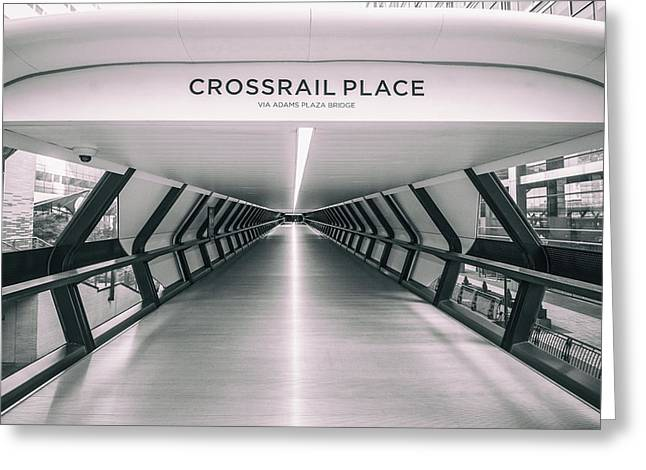 Crossrail Place Greeting Card