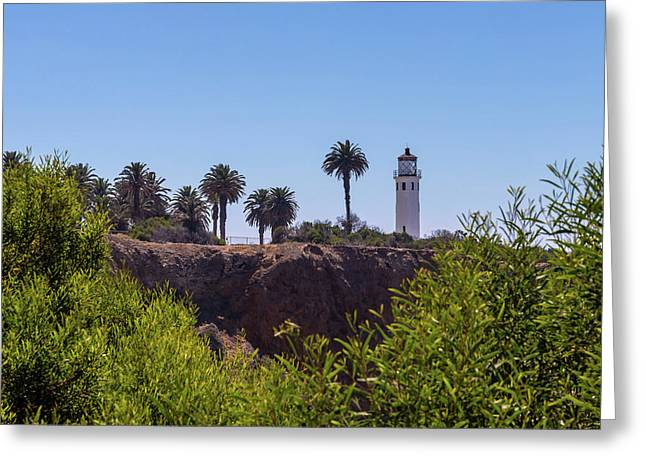 Point Vicente Lighthouse Greeting Card