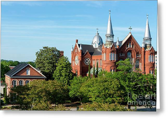 Sacred Heart Cultural Center - Augusta Ga Greeting Card