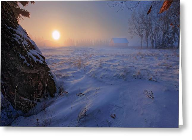 -30 Celsius Greeting Card