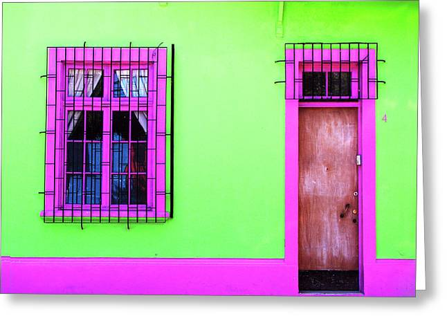 Greeting Card featuring the photograph 4 Calle Santiago by Rick Locke
