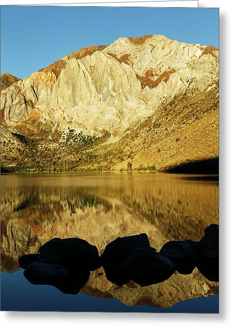 Convict Lake At Sunrise, California Greeting Card