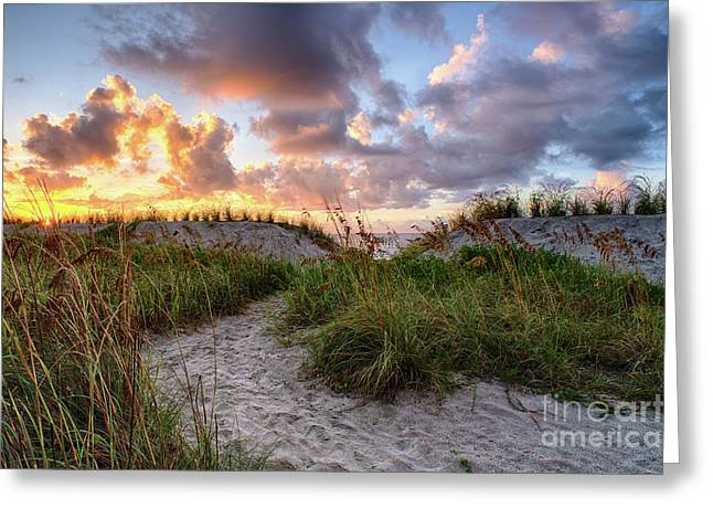 48th Ave. Sunrise North Myrtle Beach Greeting Card