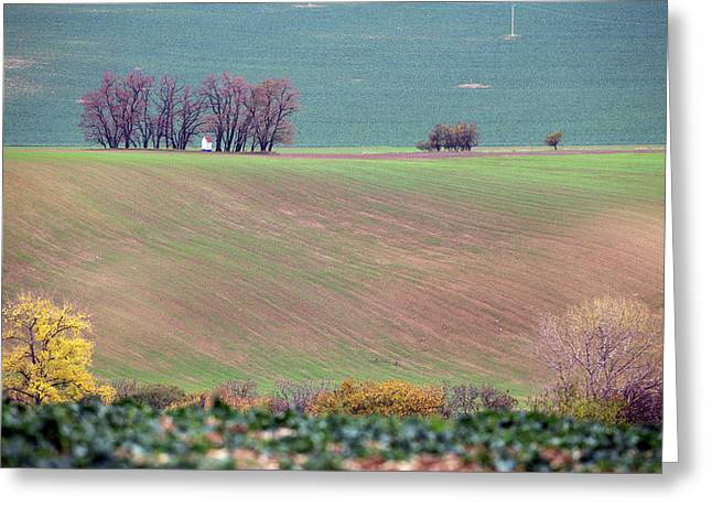 Greeting Card featuring the photograph Autumn In Moravia 6 by Dubi Roman