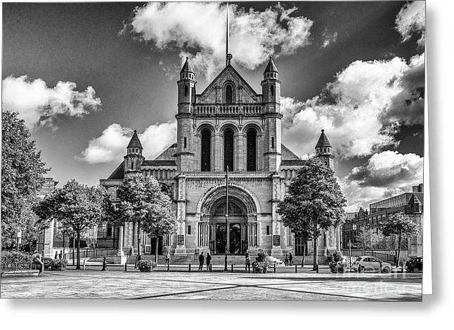 Belfast Cathedral, St. Anne's Greeting Card