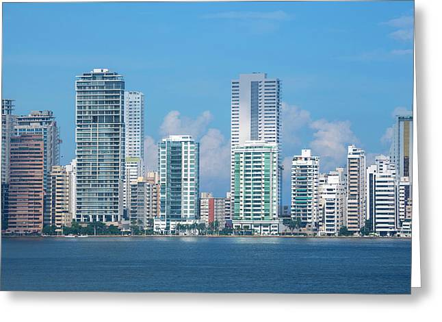 Colombia, Cartagena Greeting Card by Cindy Miller Hopkins