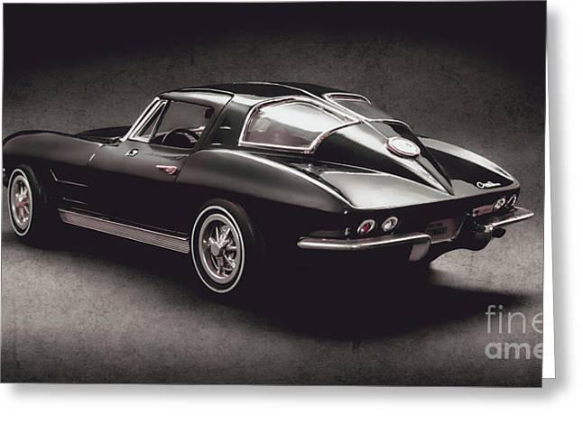 63 Chevrolet Corvette Stingray Greeting Card