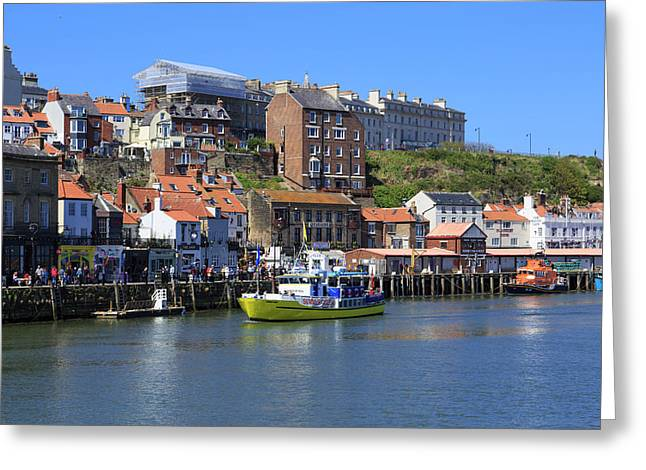 England, North Yorkshire, Whitby Greeting Card by Emily Wilson