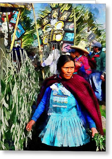 Cajamarca - Peru Greeting Card