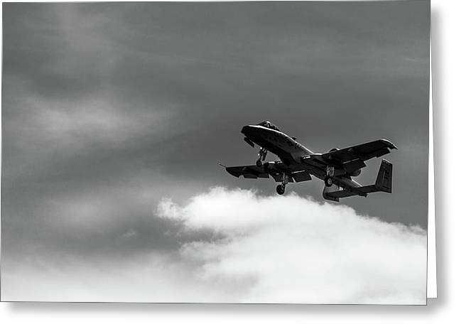 A-10 Slow Pass Greeting Card