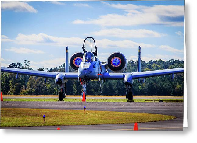 A-10c Thunderbolt II Greeting Card