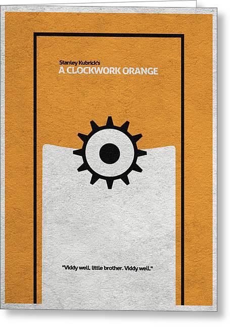 A Clockwork Orange Greeting Card