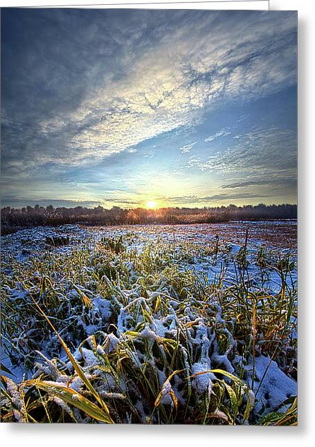 Greeting Card featuring the photograph A Dream Is A Wish That The Heart Makes by Phil Koch