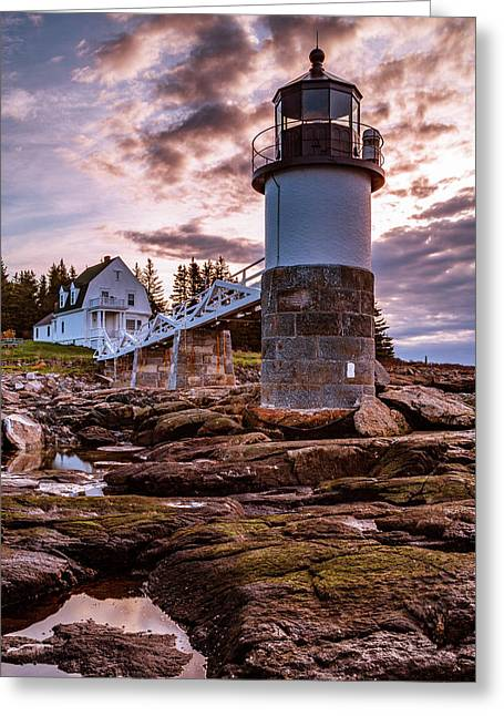 A Final Reflection Near Marshall Point Greeting Card